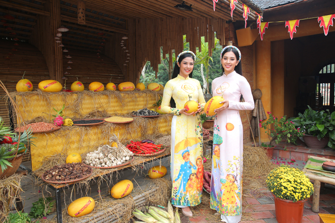 Ngọc Hân, Tiểu Vy ghi hình chương trình ngày 30 Tết - 4
