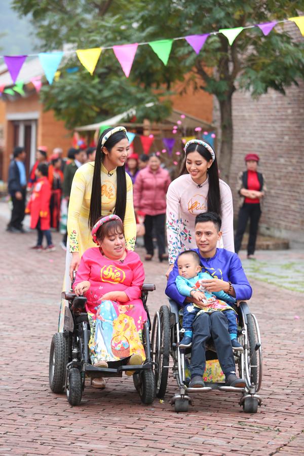 Ngọc Hân, Tiểu Vy ghi hình chương trình ngày 30 Tết - 2