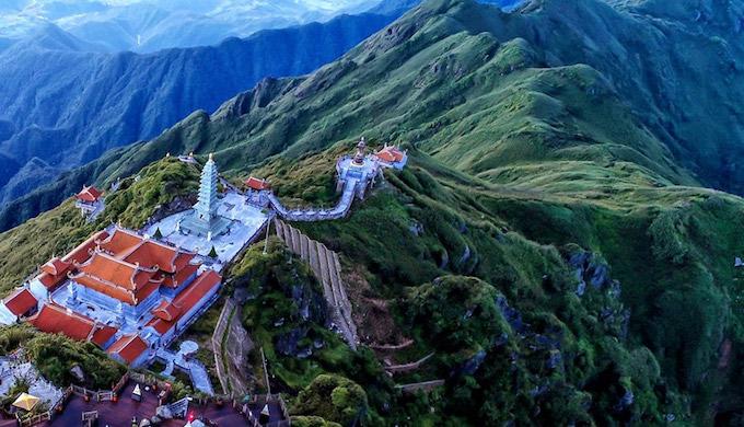 Dáng chùa Việt trên đỉnh trời Đông Dương - 4