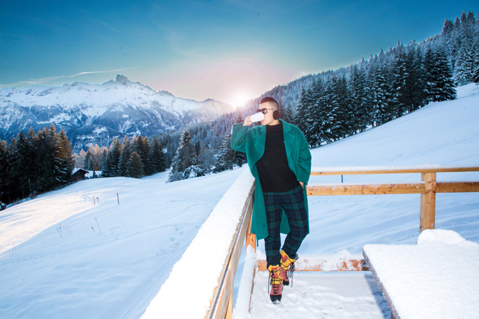 [Caption] - anh vẫn lên kế hoạch cho 2019 sẽ dành thời gian chính khám phá thế giới. Vì mỗi chuyến đi sẽ cho anh nhiều cảm xúc, trải nghiệm và năng lượng tích cực .