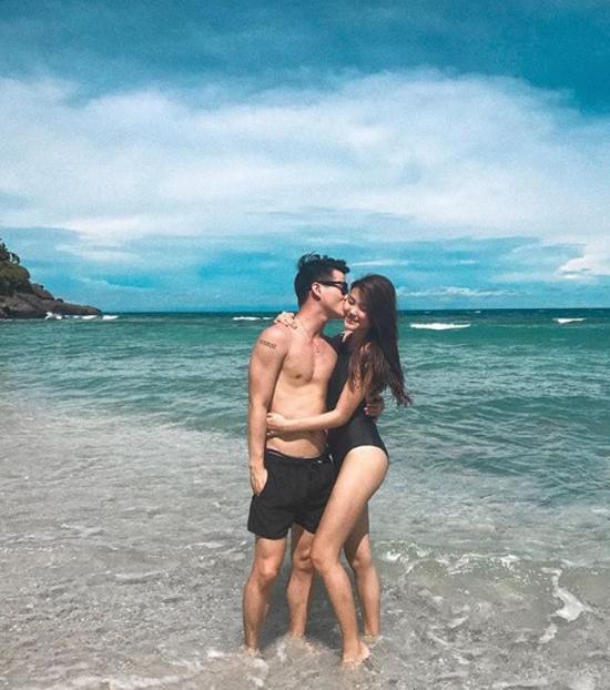 Cả hai từng thường xuyên dành thời gian đi du lịch, thăm thú nhiều nơi và chụp nhiều ảnh tình tứ. Ảnh: Instagram.