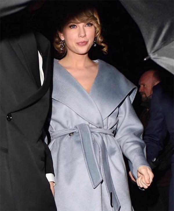 Taylor Swift hiện cũng bận rộn ở Anh để đóng bộ phim Cats.