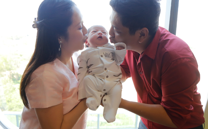 Trong suốt thời gian mang thai Thanh Thúy đã tìm hiểu lại các kiến thức, kinh nghiệm nuôi dạy con nhỏvà chuẩn bị mọi thứ cần thiết cho bà mẹ,em bé. Nhờ vậy, cô không bỡ ngỡ dù lần sinh thứ hai cách lần đầu tới 10 năm tròn.