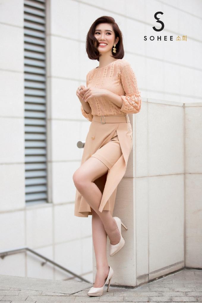 Thúy Ngân Gạo nếp gạo tẻ đẹp yêu kiều với trang phục Sohee - 4