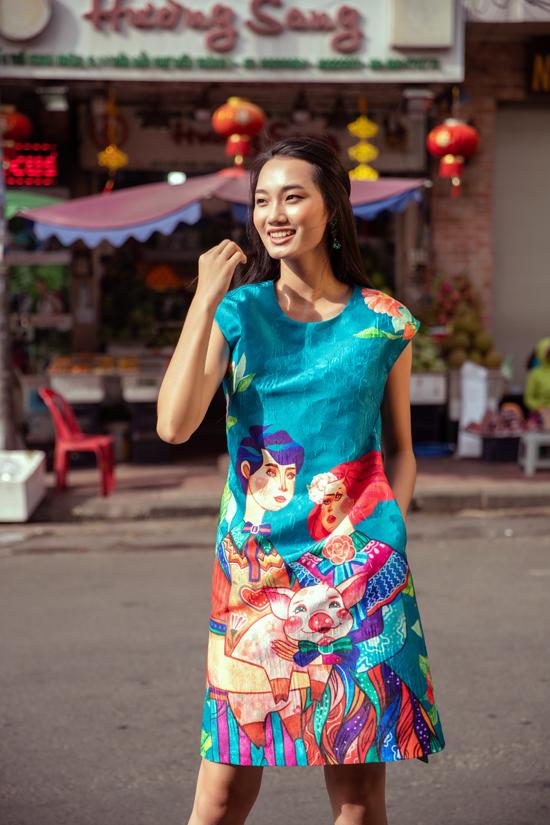 Sao Việt chuộng trang phục chú heo của Vũ Ngọc và Son - 6