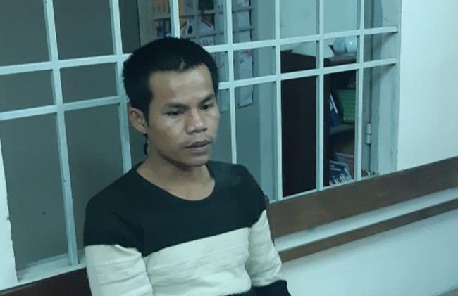 Phạm Tuấn bị bắt giữ. Ảnh: Đại Hiệp.