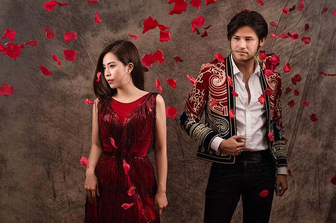 Anh Tài - Vũ Ngọc Ánh chụp ảnh Valentine trước hôn lễ - 1