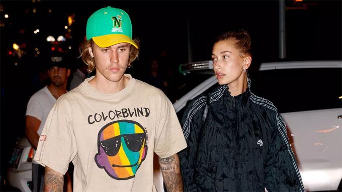 Justin Bieber bên vợ, Hailey Baldwin.