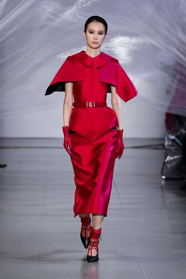 Phương My mang tinh thần Á Đông đến New York Fashion Week - 1