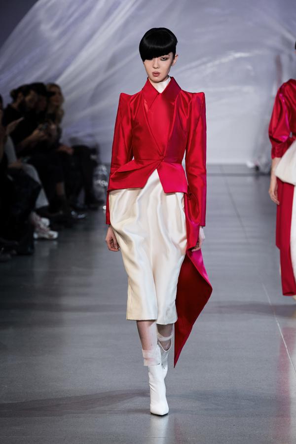 Phương My mang tinh thần Á Đông đến New York Fashion Week - 11