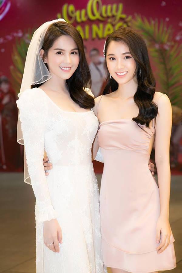 Quỳnh Hương tới ủng hộ vai diễn mới của đàn chị Ngọc Trinh.