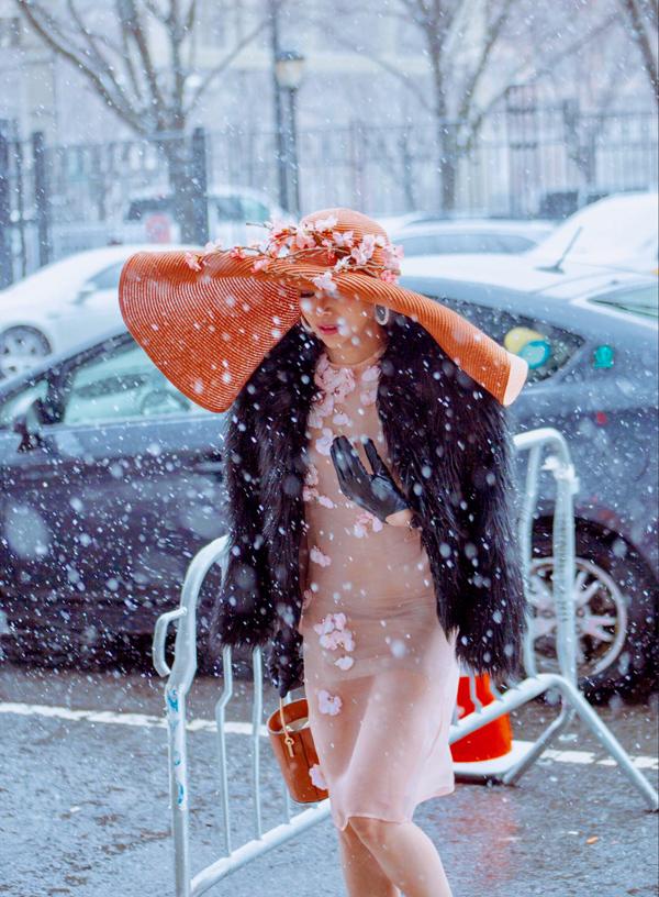 Sella Trương biến hóa phong cách dự NewYork Fashion Week - 8