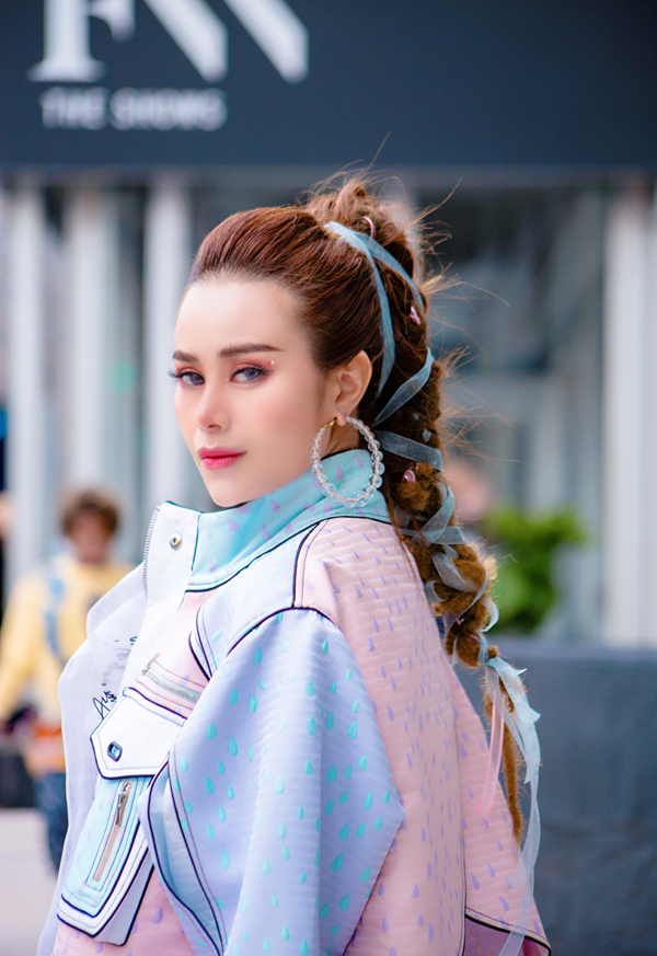 Sella Trương biến hóa phong cách dự NewYork Fashion Week - 3