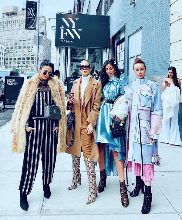 Sella Trương biến hóa phong cách dự NewYork Fashion Week - 4
