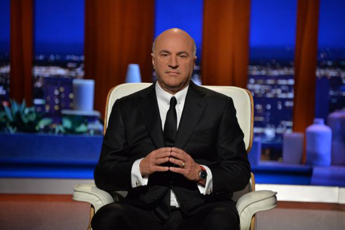 Triệu phú Kevin OLeary nổi tiếng qua chương trình thực tế Shark Tank Mỹ. Ảnh: CNBC.
