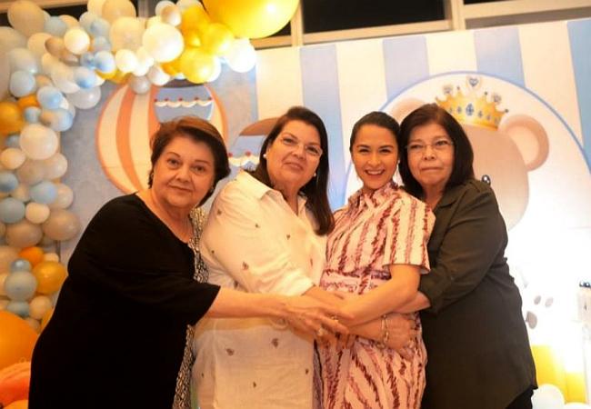 Gia đình chồng mở tiệc mừng mỹ nhân đẹp nhất Philippines sắp sinh con trai - 6