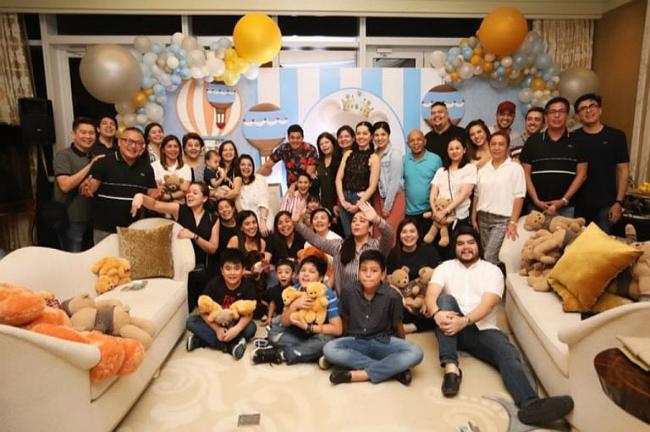 Gia đình chồng mở tiệc mừng mỹ nhân đẹp nhất Philippines sắp sinh con trai - 7