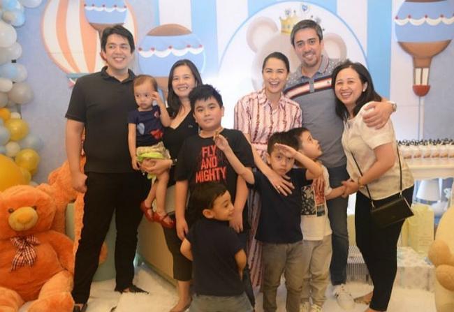 Gia đình chồng mở tiệc mừng mỹ nhân đẹp nhất Philippines sắp sinh con trai - 2