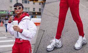 H'Hen Niê chọn giày hơn 26 triệu đồng mix đồ dạo phố