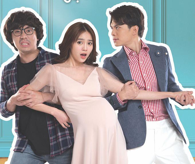 Bộ ba diễn viên chính Trấn Thành, Lan Ngọc và Anh Tú.