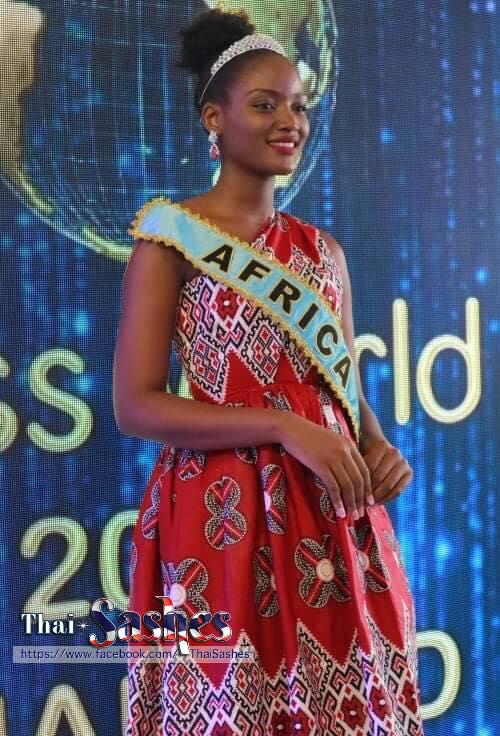 Hoa hậu khu vực châu Phi - đại diện Uganda, Quiin Abenakyo.