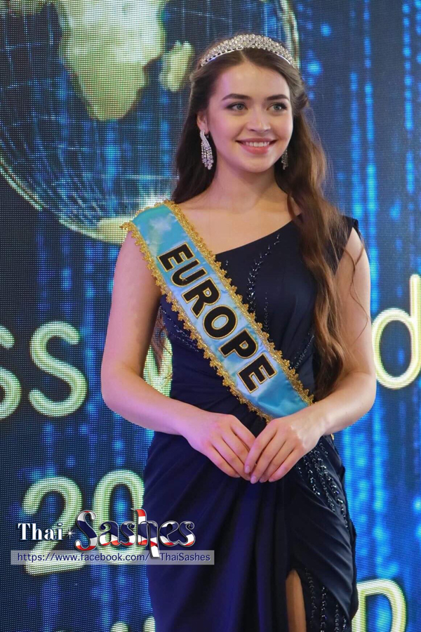 Hoa hậu châu Âu - người đẹp Belarus, Maria Vasilevich.