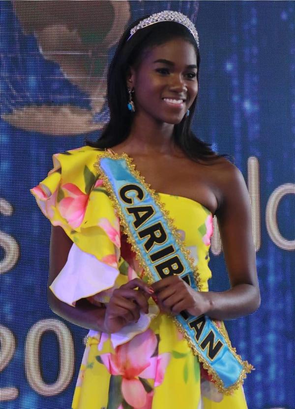 Hoa hậu vùng Caribbe - người đẹp         Jamaica, Kadijah Robinson.
