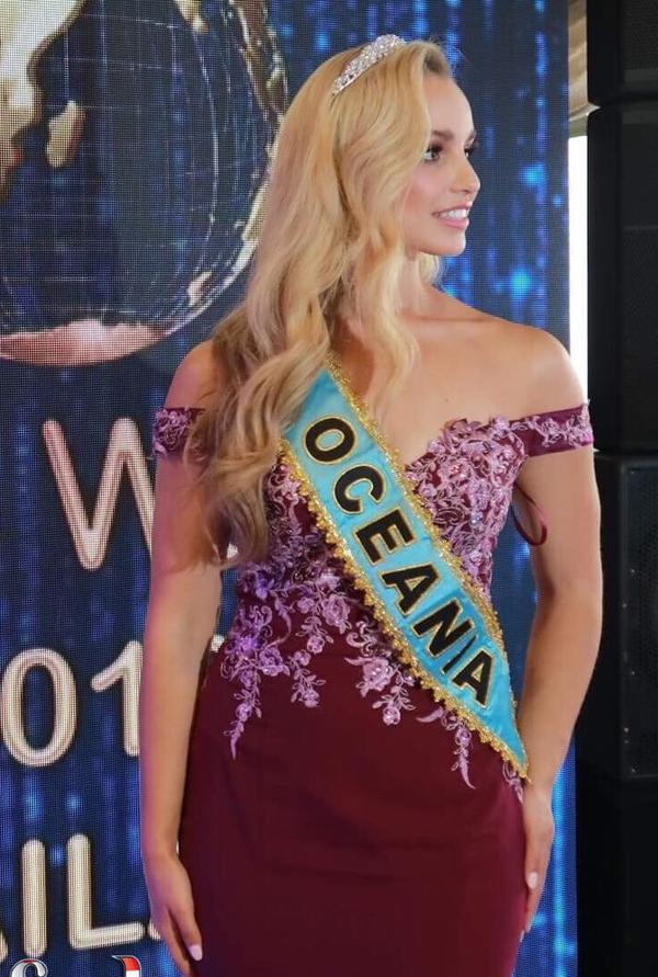Hoa hậu châu Đại dương - người đẹp New Zealand, Jessica Tyson.