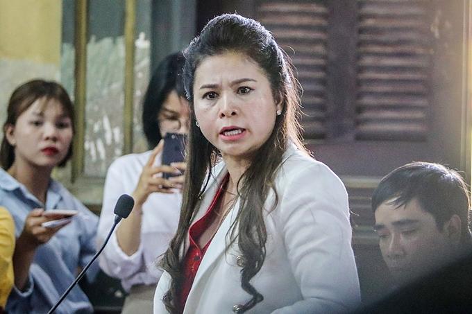 Bà Lê Hoàng Diệp Thảo nhấn mạnh ông Vũ không được tiếp tục xúc phạm.