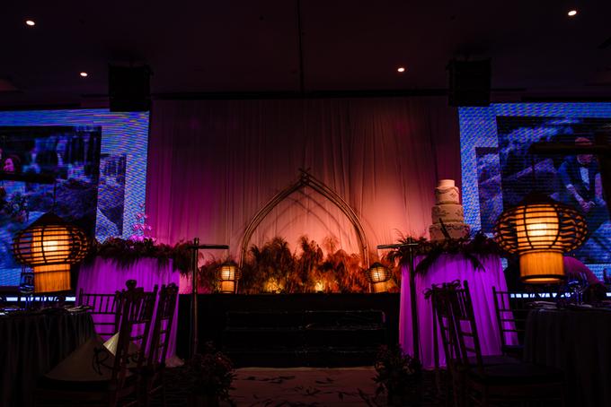 Đám cưới tre nứa mang đậm tinh thần Việt và nét châu Âu