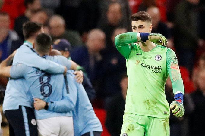Kepa tới Chelsea mùa hè năm ngoái với bản hợp đồng kỷ lục 71 triệu bảng và trở thành thủ môn đắt giá nhất thế giới.
