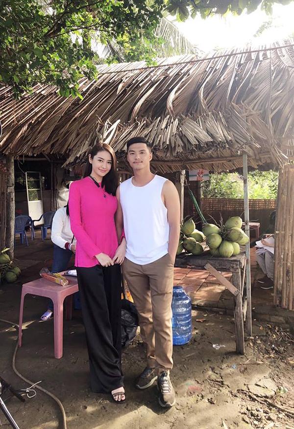 Lâm Vinh Hải và Linh Chi cùng góp mặt trong phim.