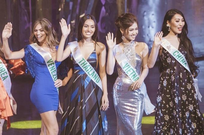 So với các thí sinh khác, Nhật Hà được đánh giá cao về nhan sắc. Cô cao 1,75m, có số đo ba vòng 87-62-90