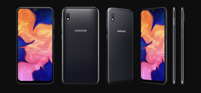 Samsung giới thiệu Galaxy A10 giá rẻ