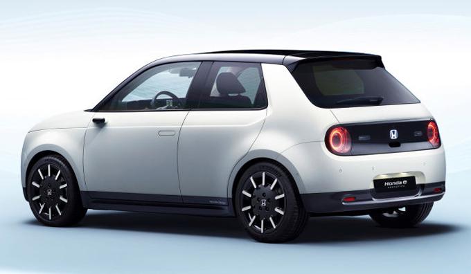 Ôtô điện Honda e Prototype sắp ra mắt - 2