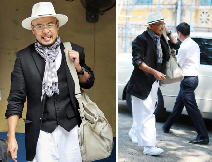 Ông Vũ xuất hiện tại tòa với đôi giày vải Made in Vietnam giá rẻ.