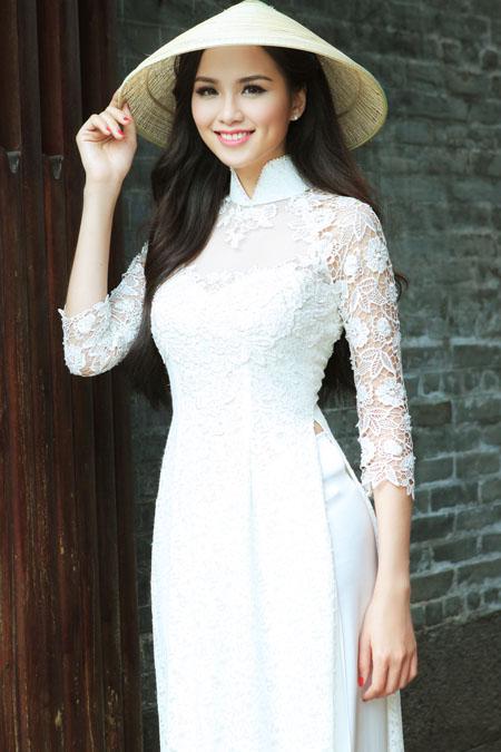 Hoa hậu Thế giới người Việt 2010 Diễm Hương.