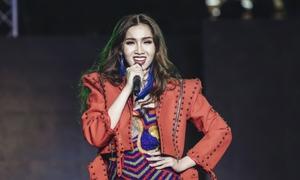 HH Chuyển giới Nhật Hà lộ giọng hát yếu với hit của Lady Gaga