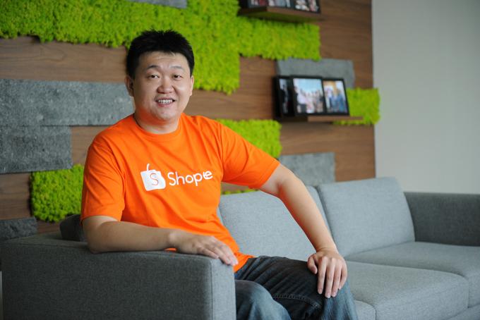 Ứng dụng Shopee lần đầu tiên được ra mắt tại Singapore và nhanh chóng mở rộng ra khu vực Đông Nam Á. Ảnh: Straits Times.
