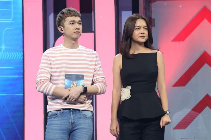 Phạm Quỳnh Anh sánh đôi Ưng Hoàng Phúc đi chơi gameshow - 2
