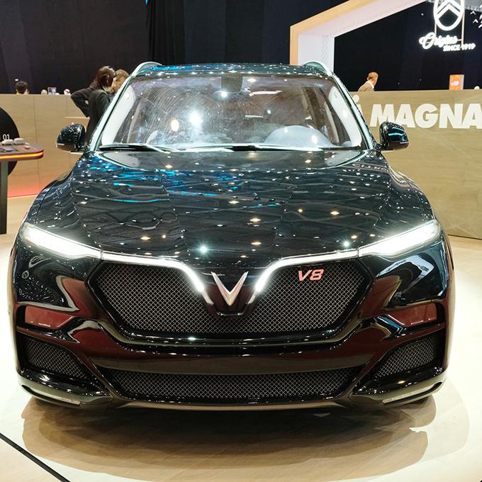 VinFast giới thiệu xe SUV tại triển lãm Geneva