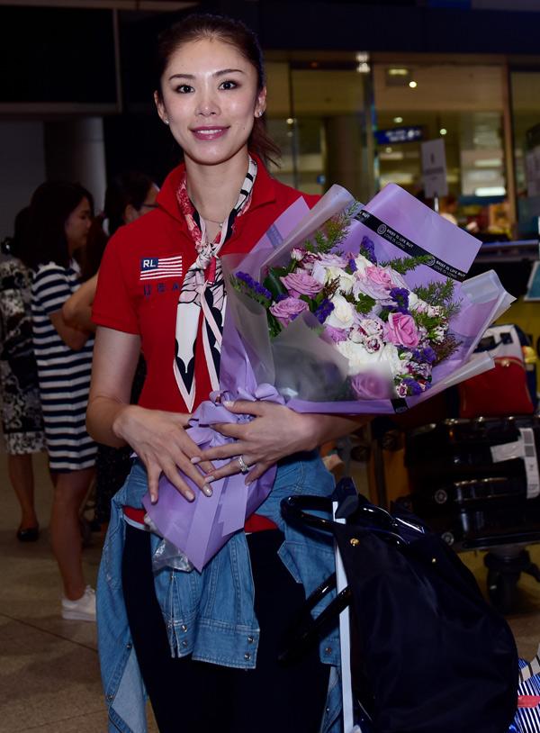 Hoa hậu Hoàn vũ 2007 Riyo Mori đến Việt Nam hồi tháng 10/2018 để tham dự đại nhạc hội Son 2.