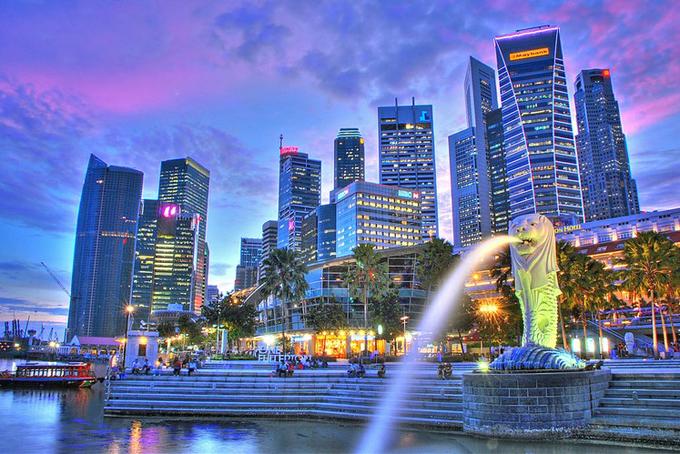 Singapore: 3598 người. Tuy có diện tích nhỏ nhưng Singapore luôn nằm trong top những thành phố đáng sống nhất thế giới