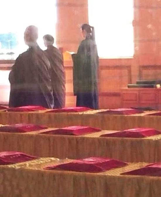 Vương Tổ Hiền thường xuyên góp mặt trong các hoạt động của Giáo hội Phật giáo.