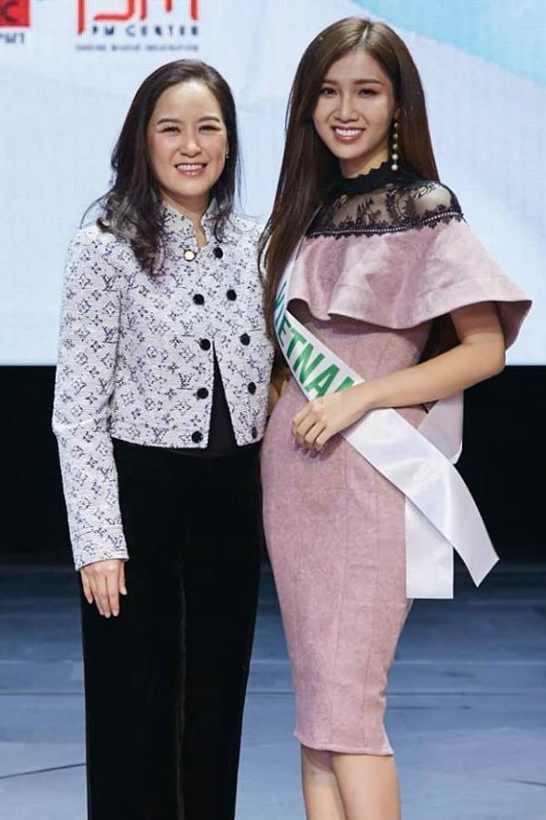 Người đẹp Việt Nam muốn xây dựng hình ảnh thanh lịch, trẻ trung tại cuộc thi.