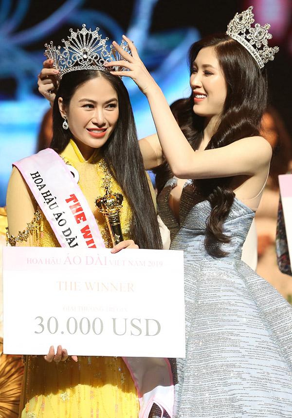 Người đẹp được các giám khảo chấm điểm cao nhất nên giành chiến thắng chung cuộc. Hoa hậu Phí Thùy Linh lên trao vương miện cho người kế nhiệm. Cô khen Tuyết Nga hát hay và chứng tỏ bản lĩnh vững vàng qua các vòng thi, xứng đáng với ngôi vị cao nhất.