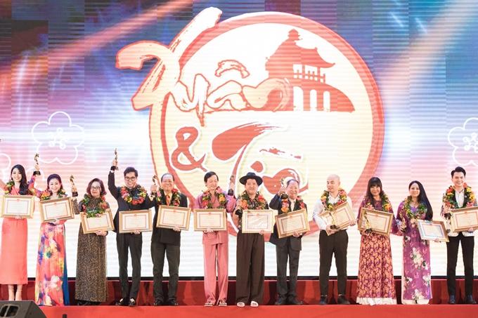 Trong sự kiện, nhiều nghệ sĩ nổi tiếng khác được vinh danh như: NSƯT Hoài Linh, Trường Giang, Ngọc Sơn, Thoại Mỹ, Ánh Tuyết, Nam Cường...