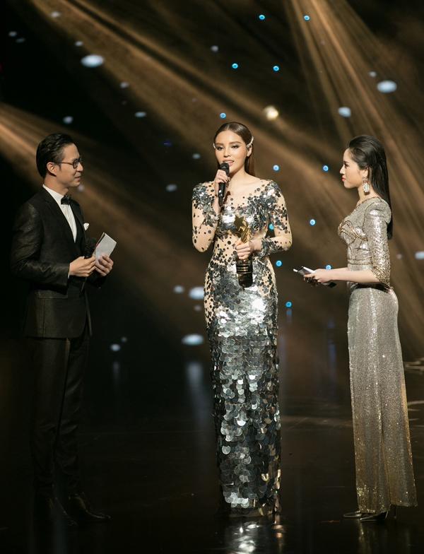 Hoa hậu Việt Nam 2014 chia sẻ, cô thấy run như khi đăng quang tại cuộc thi nhan sắc hơn 4 năm trước.
