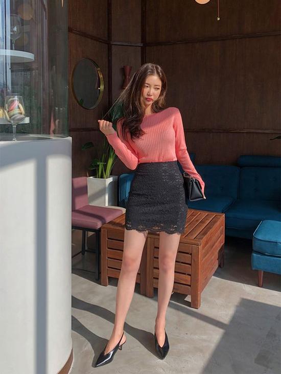 Mặc đẹp đến văn phòng cho nàng mê chân váy - 1