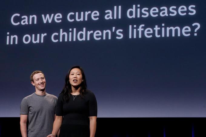 Vợ chồng Mark cũng có quỹ từ thiện riêng có tên gọi Chan Zuckerberg được thành lập năm 2015 với mục đích chính tập trung vào học tập cá nhân, chữa trị bệnh tật, kết nối mọi người và xây dựng cộng đồng vững mạnh.